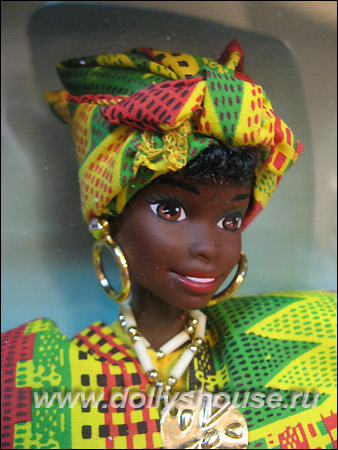 Dolls Of The World Ghanian Barbie (1996)